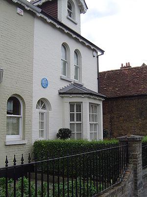 English: Birthplace and home of Stanley Spence...