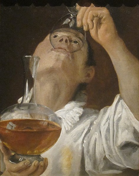 File:'Boy Drinking' by Annibale Carracci, 1582-83.JPG