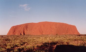 English: Ayers Rock, Uluru, Australia Deutsch:...