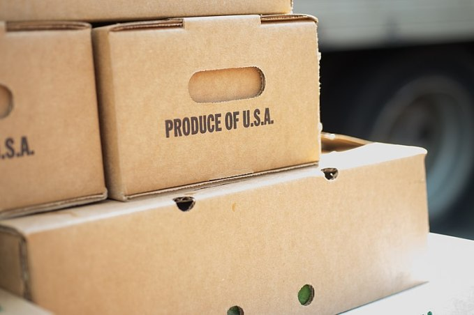 File:Fire-Tuscarora Organic Growers - Product of USA - Boxes .jpg