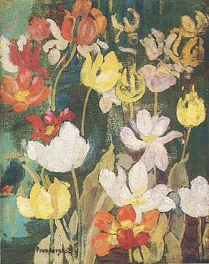 Painting Spring Flowers
