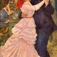 """Dance at Bougival"" by Auguste Renoir"