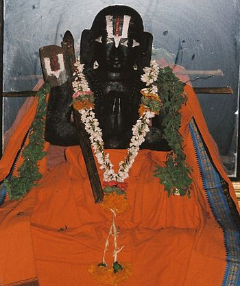 English: sage Ramanujacharya's statue