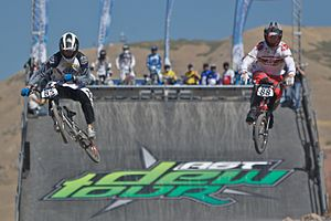 BMX Dew Tour 2007 in Salt Lake City, Utah.