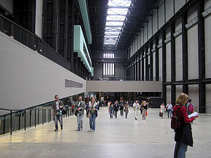 The Turbine Hall. No art work was on display i...