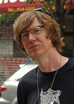English: Thurston Moore at the 2008 Brooklyn B...