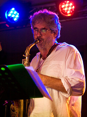 English: Tim Berne, jazz saxophonist; Picture ...