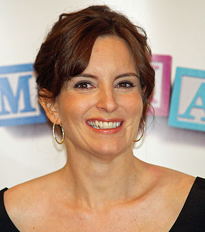 Tina Fey at the premiere of Baby Mama in New Y...
