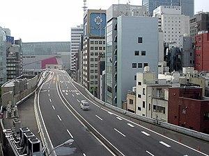 The Metropolitan Expressway in Tokyo, Japan.
