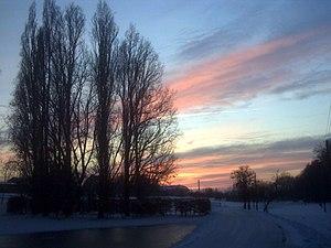 Twilight near dresden
