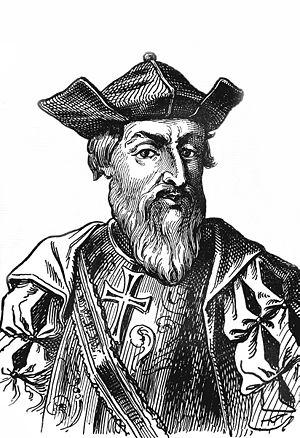 Vasco da Gama, Portuguese navigator.