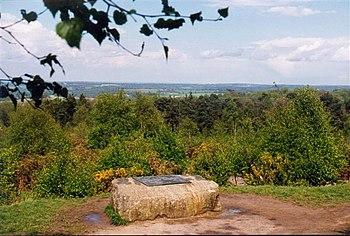 English: AA Milne memorial. Memorial to AA Mil...
