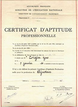 Centre Dapprentissage Wikipdia