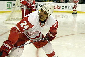 Chris Chelios, #24 (Detroit Red Wings)