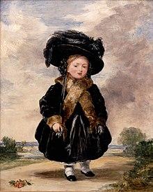 Victoria aged 4