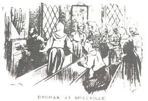 English: Antonin Dvorak in Spillville (Iowa) Č...