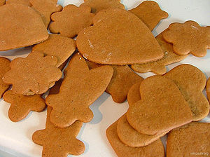 Scandinavian-style ginger thins.