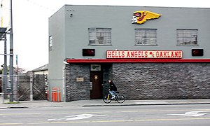 Deutsch: Clubhaus der Hells Angels in Oakland ...