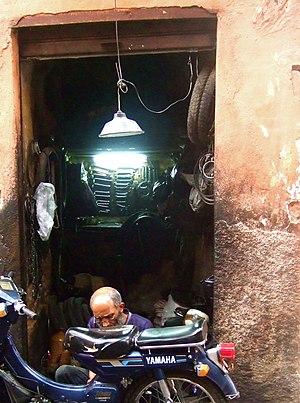 The Mechanic - Marrakesh, Morocco