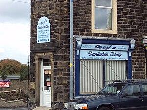 Ossy's sandwich shop, Union Road, Oswaldtwistl...