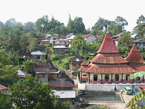 Village of Pariangan in West Sumatra