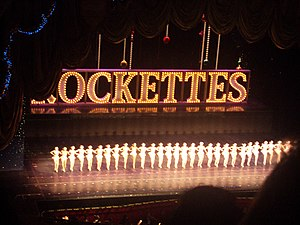 English: Rockettes Christmas Spectacular at Ra...