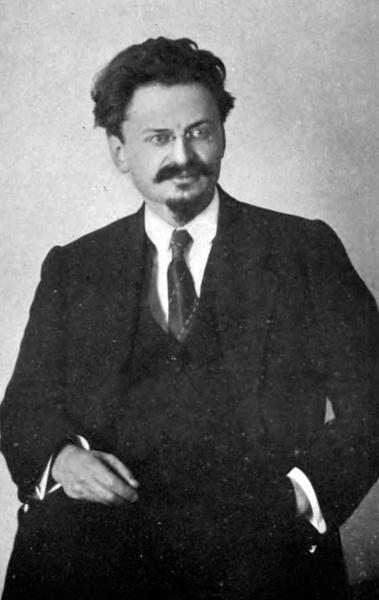 Leon Trotsky, Russian revolutionary leader.