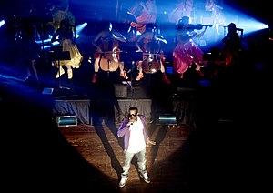 Kanye West in 2007.