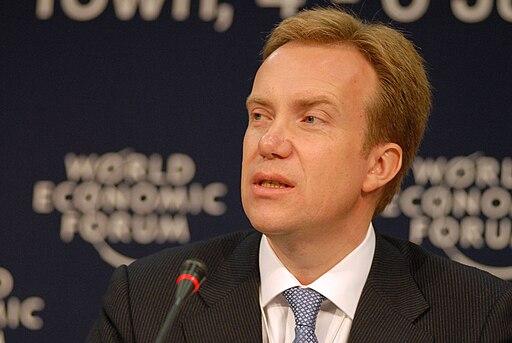 Børge Brende at the World Economic Forum on Africa 2008