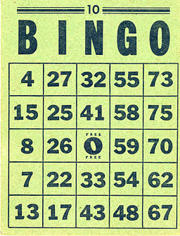 Bingo card - 02