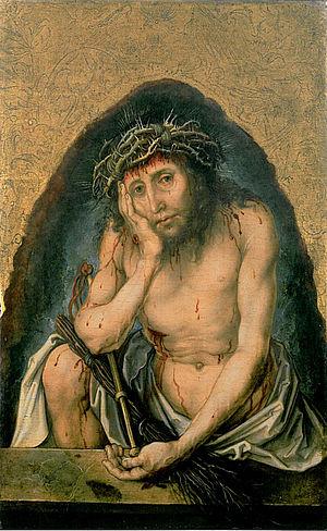 Christus als Schmerzensmann (Duerer)
