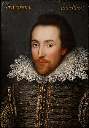 English: Cobbe portrait, claimed to be a portr...