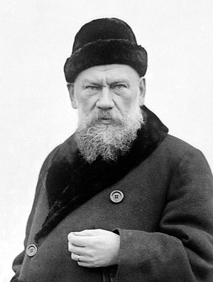 Count Tolstoy, undated