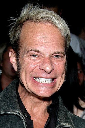 English: David Lee Roth attending a Fashion Sh...
