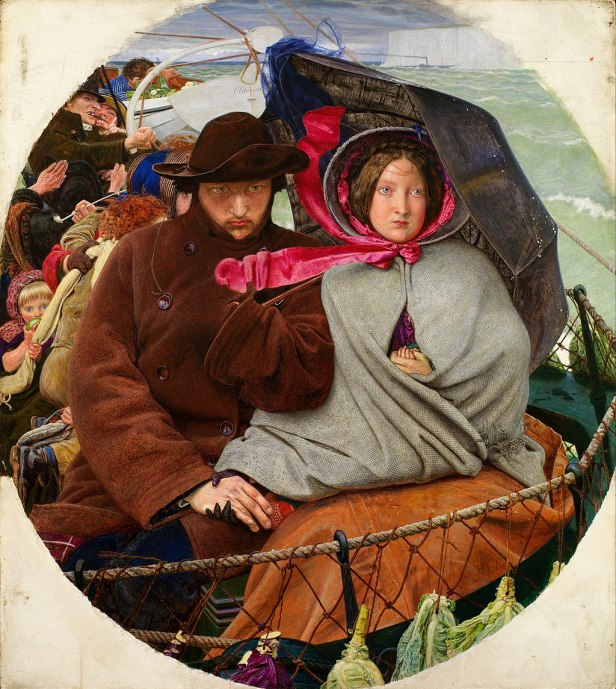 """""""The Last of England"""" by Ford Madox Brown"""