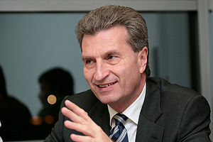 Günther H. Oettinger, former (until 2010-02-10...