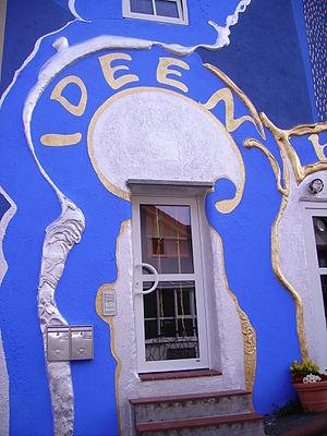 Ideen-Haus Eingang