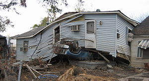 New Orleans after Hurricane Katrina: Lower 9th...
