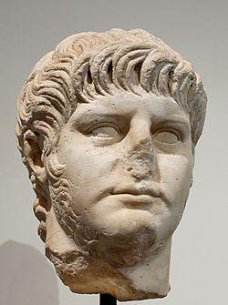 Buste de Néron, musée du Capitole, Rome