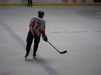 English: Petri Kontiola, finnish ice hockey pl...