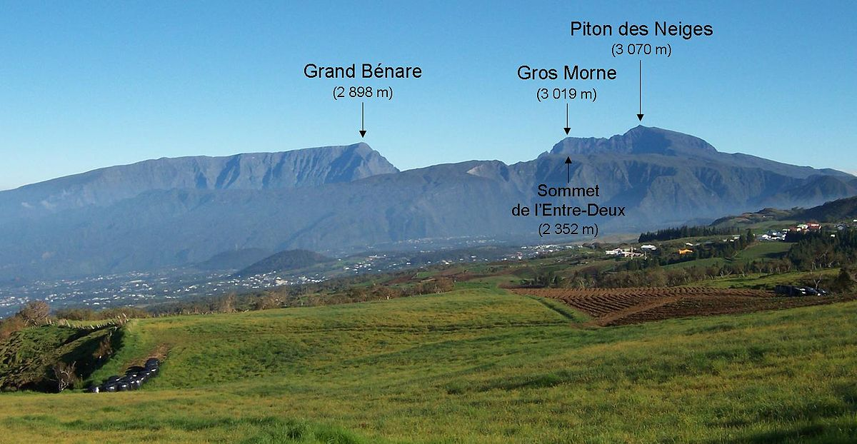 Massif Du Piton Des Neiges Wikipdia