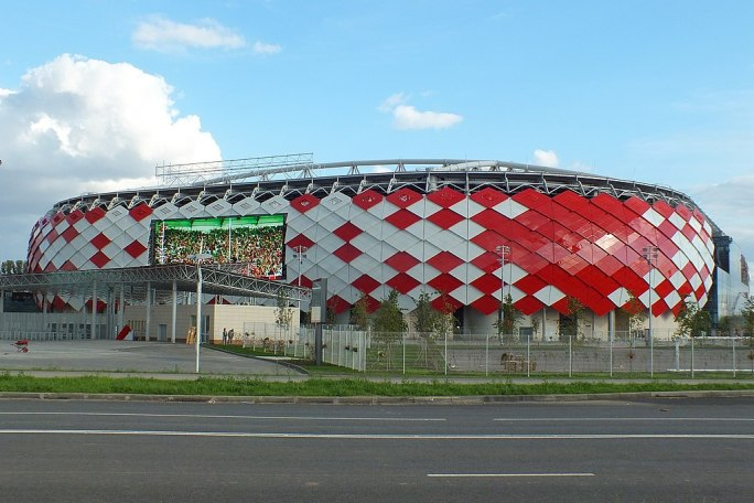 Spartak stadium (Otkrytiye Arena), 23 August 2014