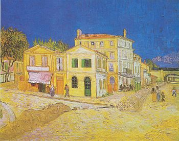 The yellow house (Vincent's House)