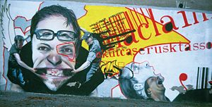 Graffiti in Warsaw