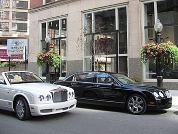 Bentley Gold Coast Showroom on Rush Street Cat...