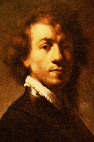 Artist as a Young Man - Rembrandt Harmenszoon ...