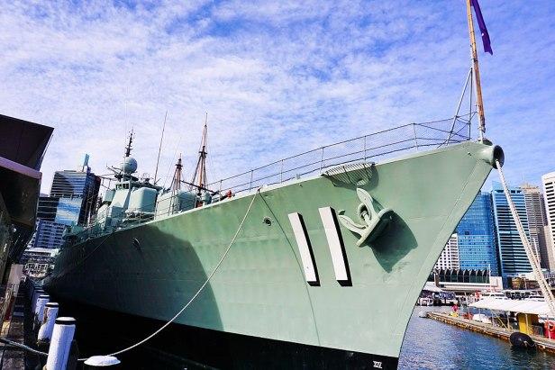 Australian National Maritime Museum - Joy of Museums - HMAS Vampire (D11)