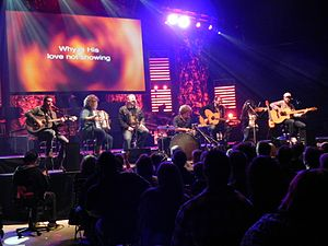 English: Casting Crowns performing in 2011 on ...