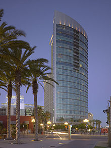 The Omni San Go Hotel Curtain Wall Is An Example Of A Modern Unitized System With Integrated Sunshades