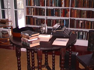 Hemingway's writing desk